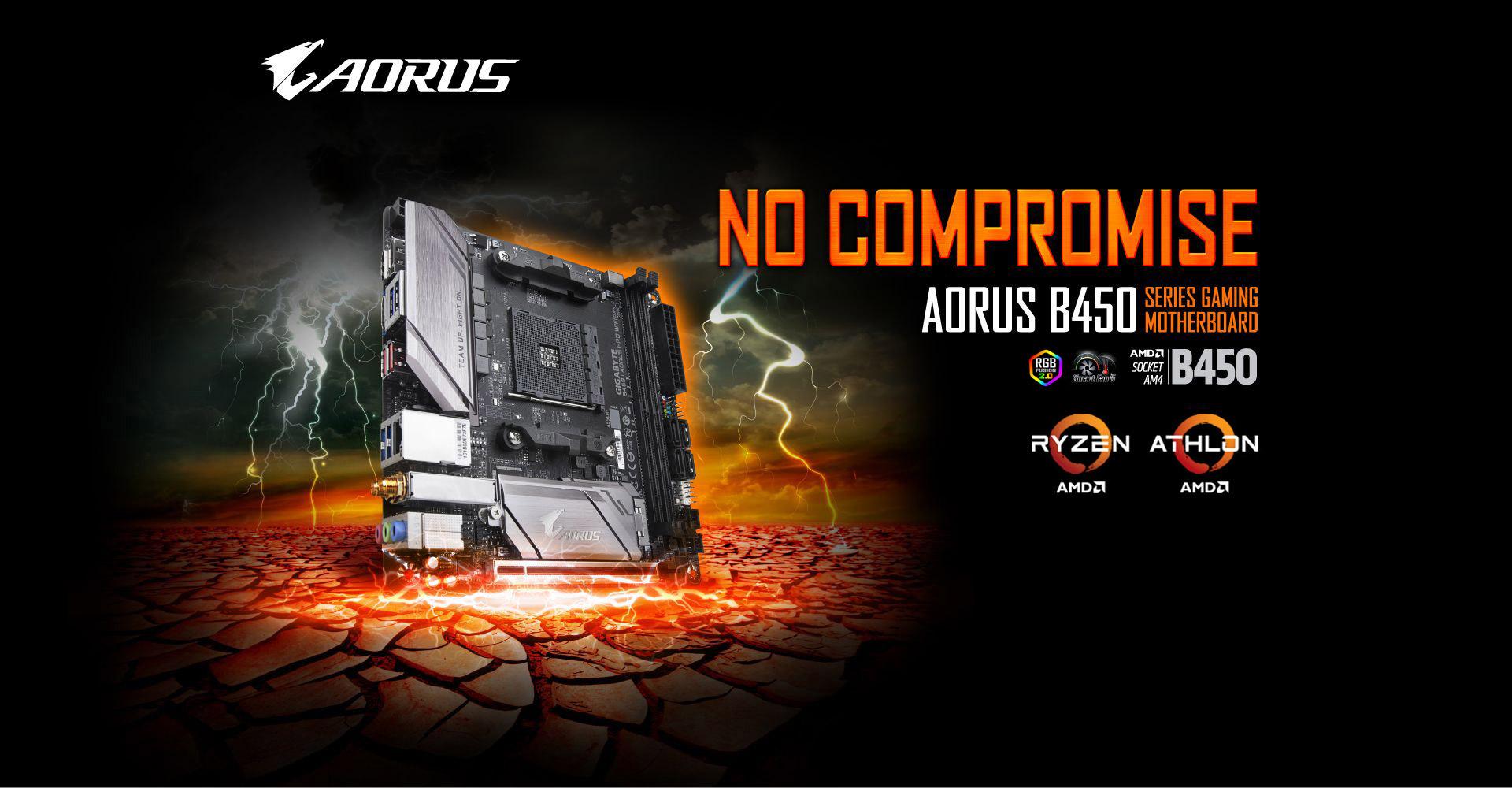 B450 I AORUS PRO WIFI | AORUS