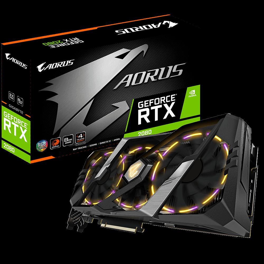 AORUS GeForce RTX™ 2080 8G | AORUS